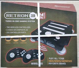 Retron videoconsola NES, SUPER NES, MEGA DRIVE NEW