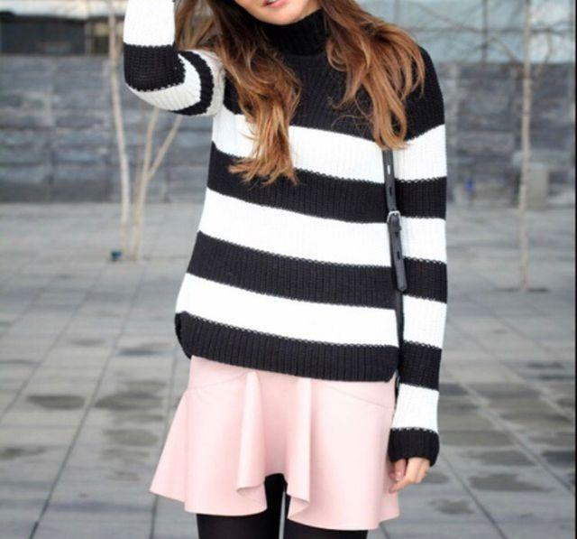 3f07c6215d Falda Zara polipiel rosa empolvada nueva de segunda mano por 12 € en ...