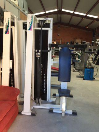 Lote 6 maquinas gimnasio + regalo 1maquina y rueda