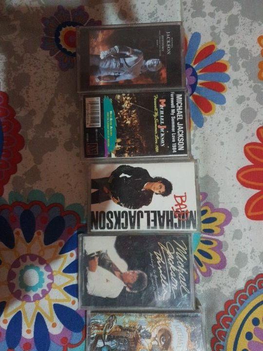 se vende colección cassettes Michael Jackson