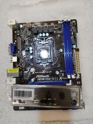 Placa Base ASROCK H61M-VG4 Socket 1155