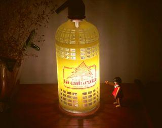 lámpara sifon vintage la Catarata