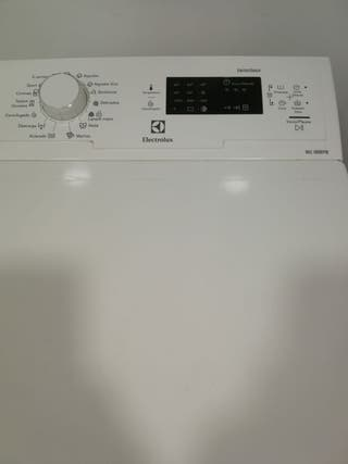 Lavadora electrolux.
