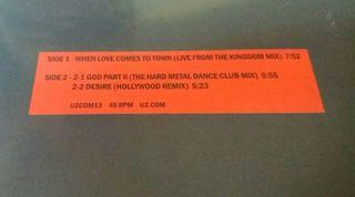 U2. 3-D Dance Mixes