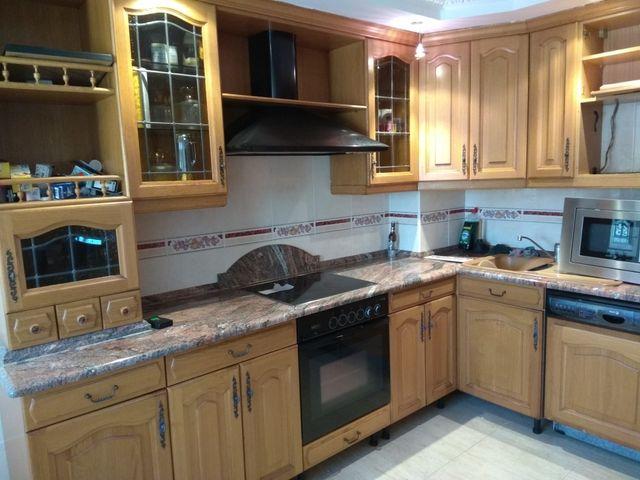 Mueble cocina de segunda mano por 600 € en Pamplona en WALLAPOP