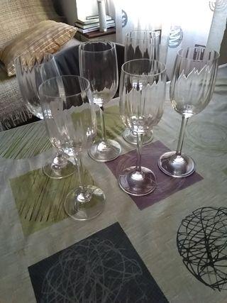 Copas de vino o jerez