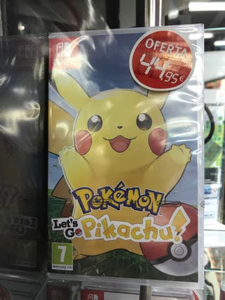 pokémon lets go pikachu nintendo switch