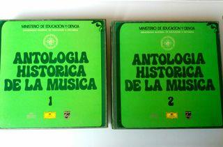 Discos Antología Histórica de la Música