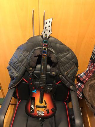 Wii + guitar hero