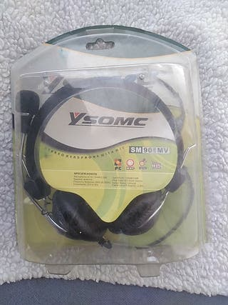 casco stereo head phone with mic