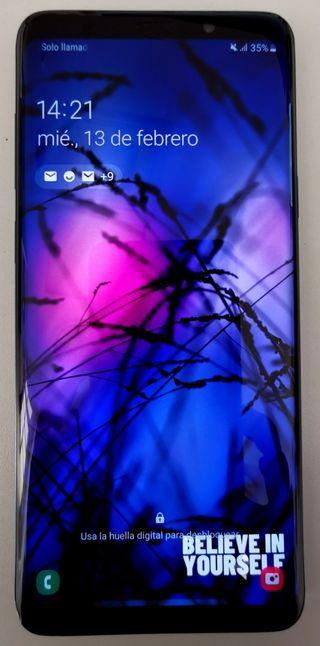 SAMSUNG GALAXY S9+ AZUL 64GB DUAL SIM EN GARANTIA