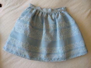 Falda y camisa ceremonia niña tizzas