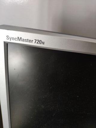 """monitor pantalla ordenador Samsung 17"""""""