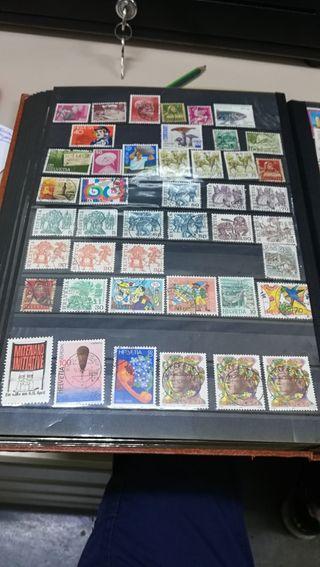sellos de colección 2 ÁLBUM 70E Y 2000 SELLOS 30E