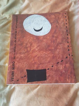 Libro de arte Veure Miró / Ver Miró