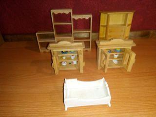 casa de muñecas muebles