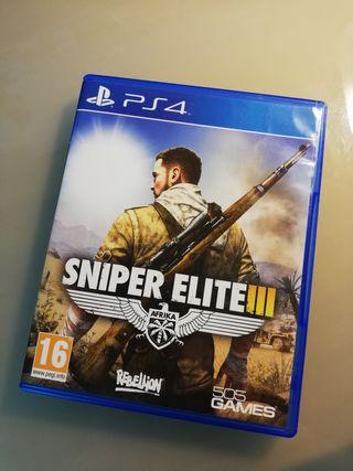 Ps4 Sniper elite III (sniper elite 3)