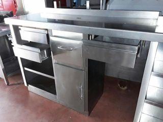 Mueble cafetero inox