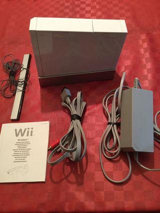 Wii blanca más pack deporte,más juegos más extras.