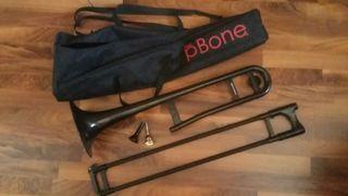 Trombón pBone negro + boquilla V.Bach 6-1/2AL