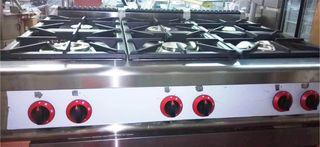 Cocina industrial fondo 90cm