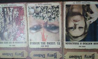 Lote 3 novelas de terror antiguas