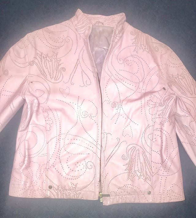 Pure leather jacket by Versace