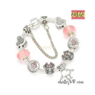 Pandora Mickey Minnie pulsera charms