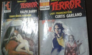 Lote 2 novelas de terror antiguas