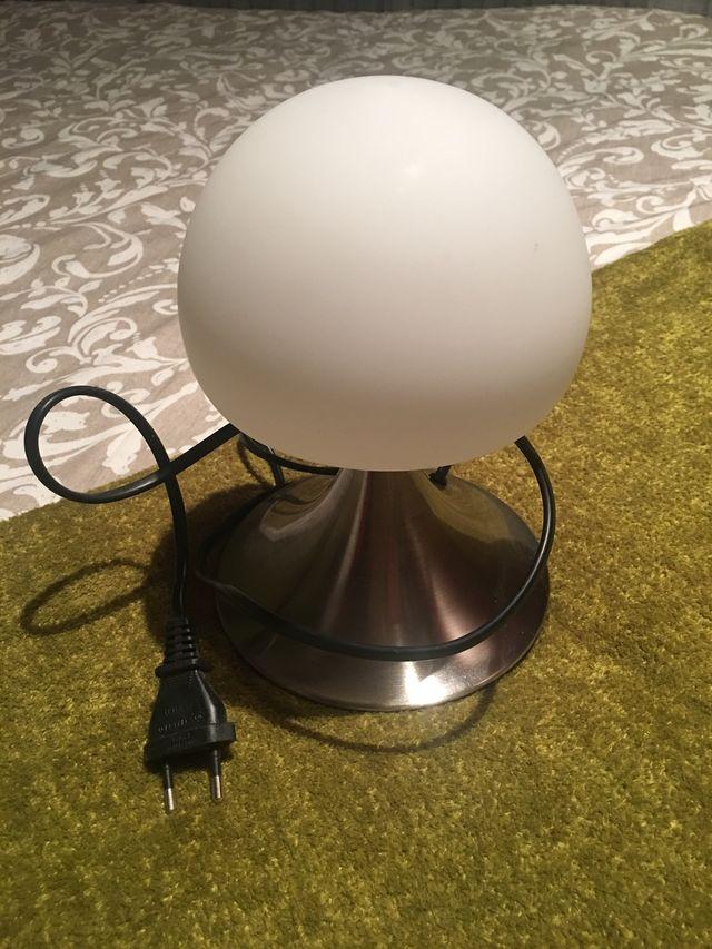 Juego dos lámparas de mesita de noche. Táctil