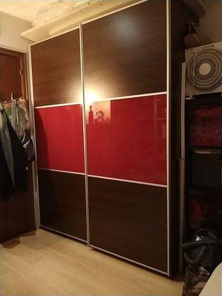 Puertas de madera de segunda mano en wallapop for Armario puertas correderas segunda mano