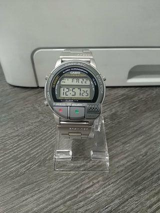 Reloj Casio AV-1 NUEVO GRABA VOZ
