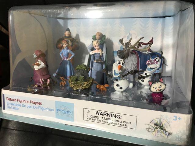 Playset de figuras Frozen Disney