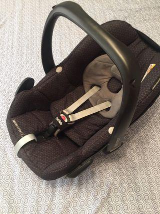 Silla coche grupo 0 maxi cosi beb confort de segunda mano for Silla coche bebe grupo 0
