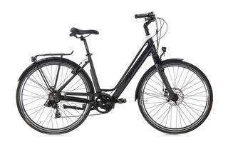 Bicicleta Eléctrica de Paseo Elegante. Color Negro