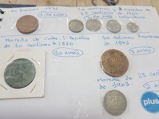monedas antiguas de fuera 35 todas ellas