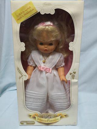 muñeca comunion