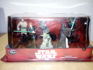 Figuras Disney de Star Wars.