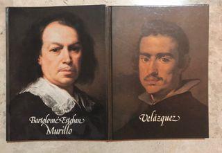 2 libros: Velázquez y Murillo 1982/1983