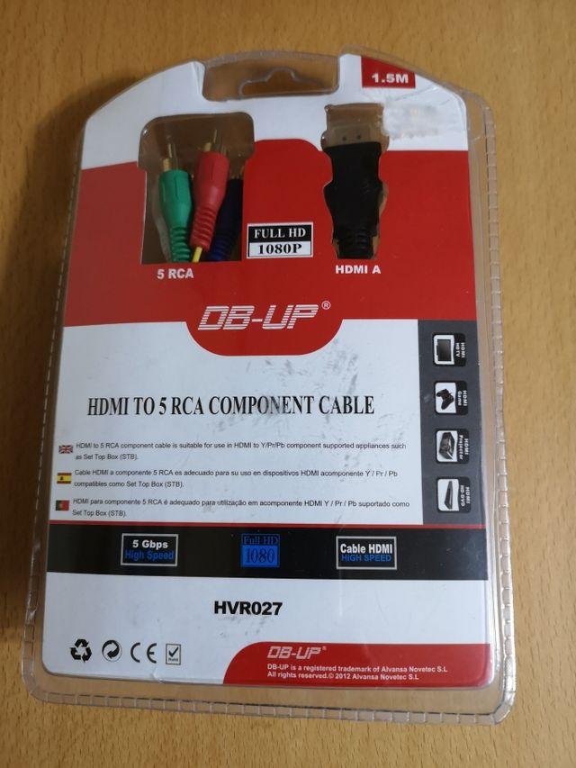 Cable de HDMI a 5 RCA