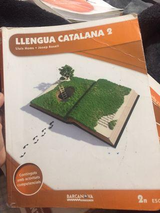 Libro Lengua Catalana 2 de ESO