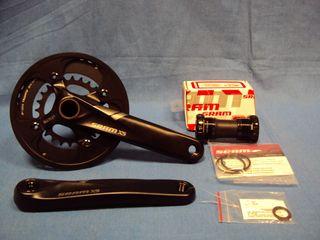 NUEVO Bielas SRAM X5 10sp 38-24 GXP 175 rodamiento