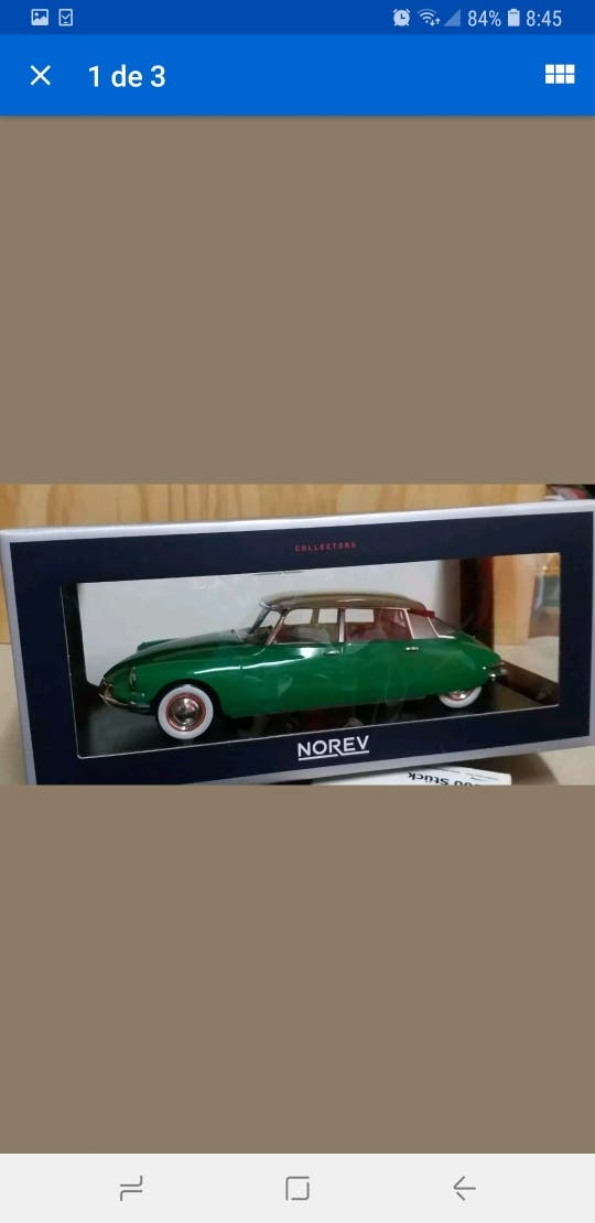 1/18 maqueta norev Citroën DS 19