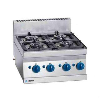 Cocina modular serie snack 4 fuegos