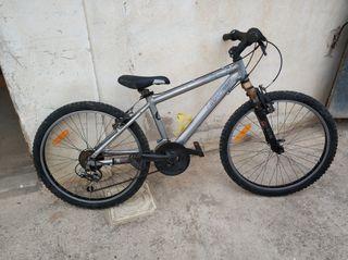 bici MTB 24 pulgadas Rockrider 5.2