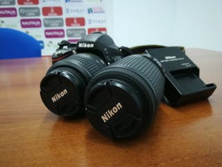 Nikon D5100 + 2 objetivos