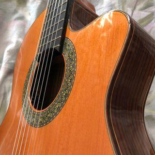 Guitarra Alhambra 5P CT E2 caja estrecha + estuche