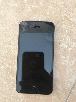 iPhone tiene la pantalla rota