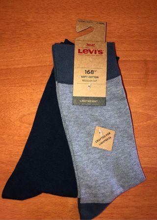 Calcetines Levis paquete de 2 pares