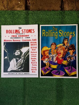 ROLLING STONES 2 POSTERS